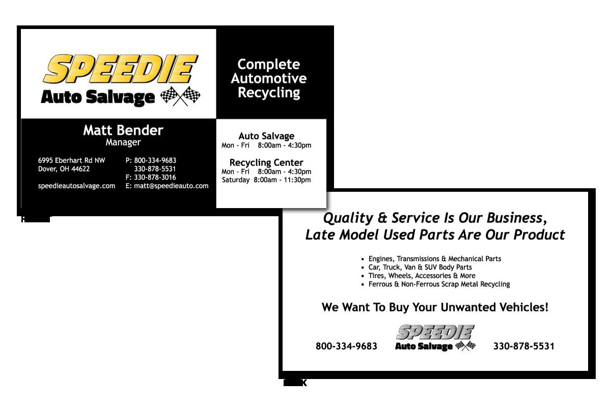 Logo: Speedie Auto Salvage » Kat & Mouse